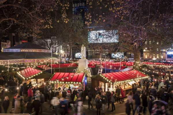 Leicester Square London Christmas