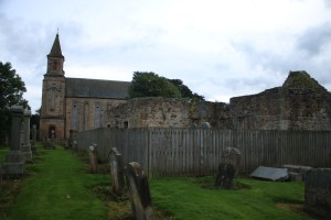Polmont Old Parish church and the original ruins