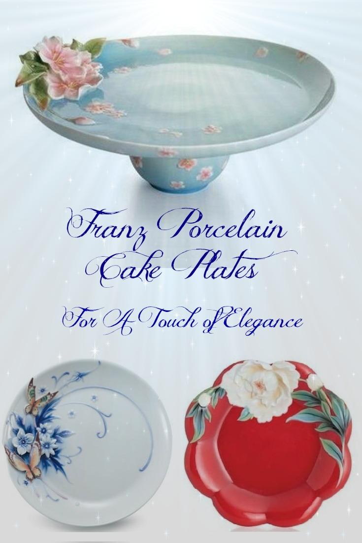 Franz Cake Plates