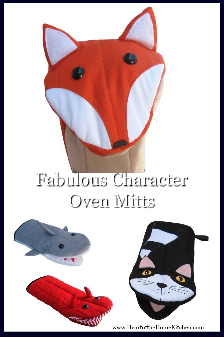 Character Oven Mitts & Puppets