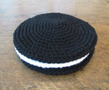 Crochet Oreo Cookie Potholders