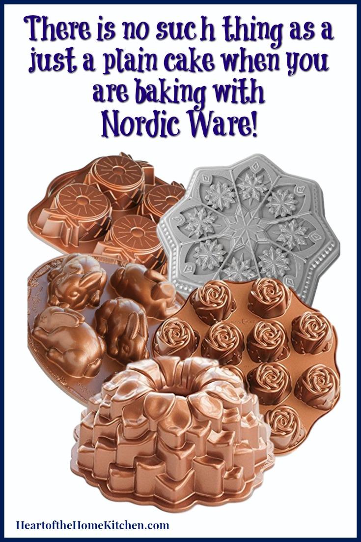 Nordic Ware Cake Pans