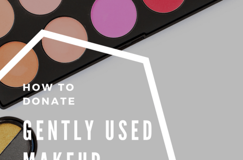 Donate gently used makeup