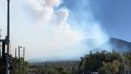 Decker Fire on Methodist Mountain
