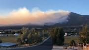Decker Fire on Methodist Mountain