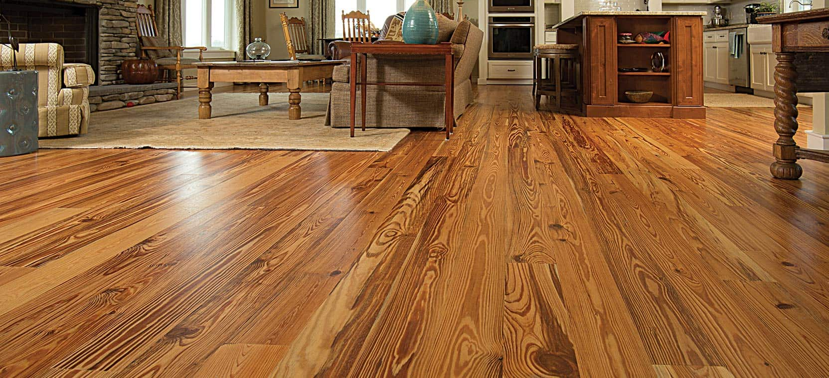 Heart Pine Reclaimed Wood Flooring Goodwin Company