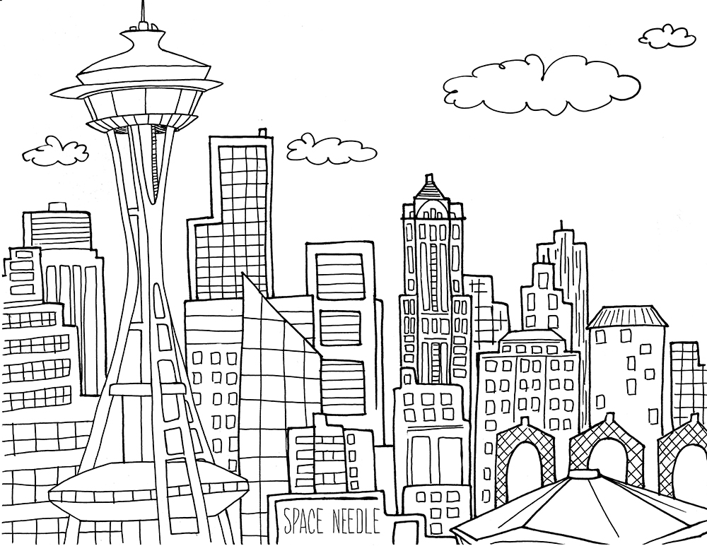 Needle Coloring Coloring Pages