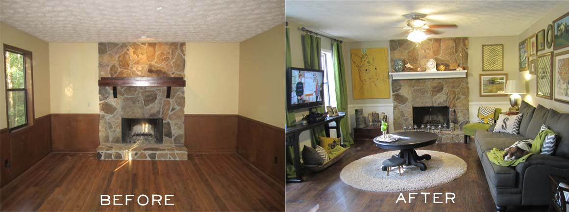 Another Home Reno Before and After  Hearts  Sharts
