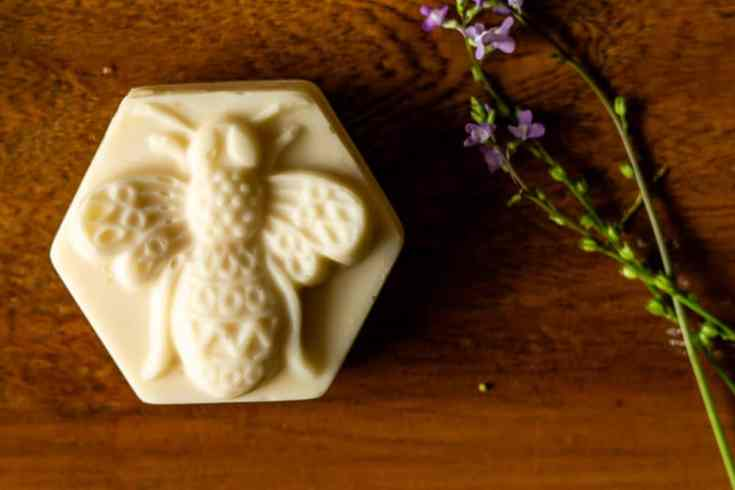 Cold Process Beeswax and Honey Soap