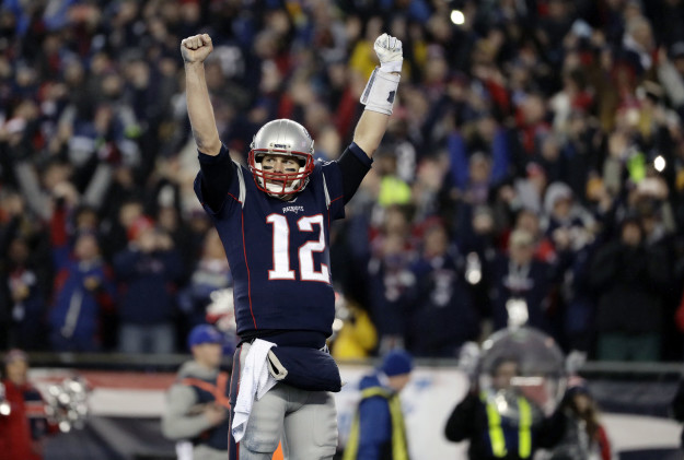 Tom Brady led the Patriots back to the Super Bowl after beating the Pittsburgh Steelers 36-17 in the AFC championship game on Sunday.