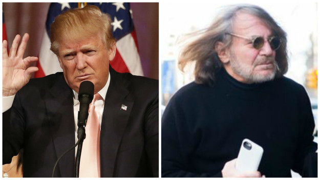 """He has all his hair,"" Bornstein said. ""I have all my hair."""