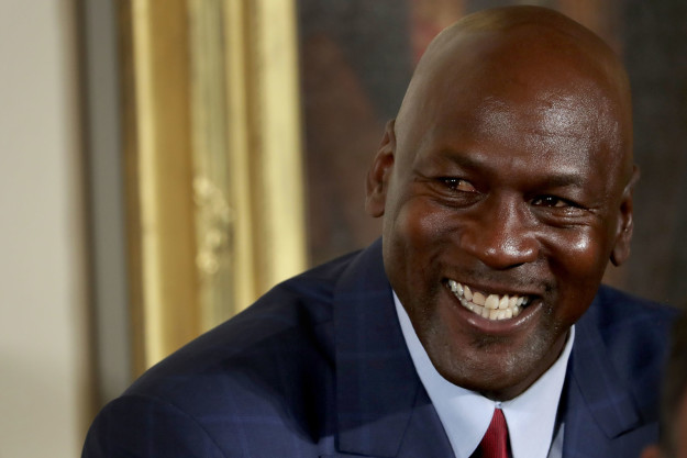 Hi! This is Michael Jordan, lachrymose internet meme, star of Space Jam, and the greatest basketball player of all time.