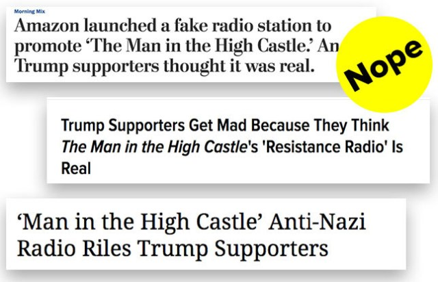 It wasn't just Trump supporters misunderstanding the campaign, however.