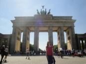 Token Brandenburg Gate shot in Berlin. Yay Germany!!!