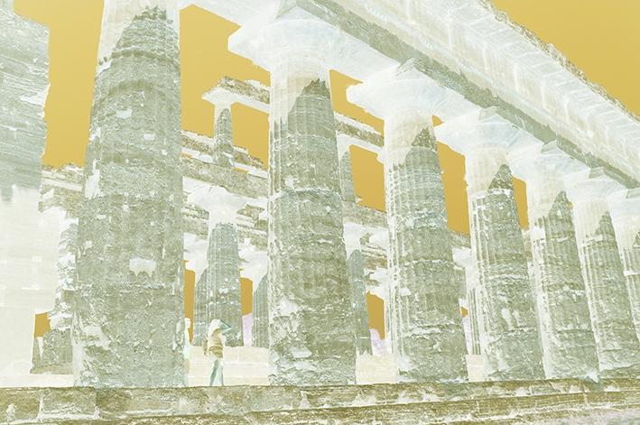 Italie, Temple grec de Paestum