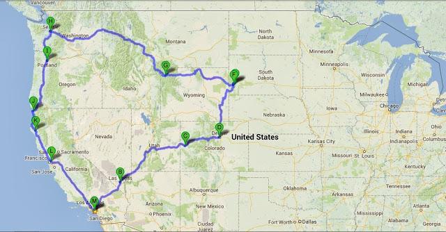 My Pacific Northwest Road Trip