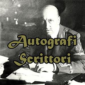 Autografi Scrittori
