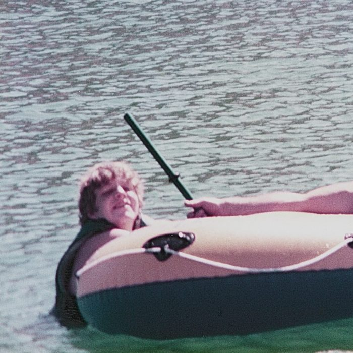 Tony at the lake - 1983 or 84