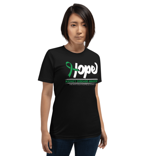 hope ribbon kidney disease awareness shirt