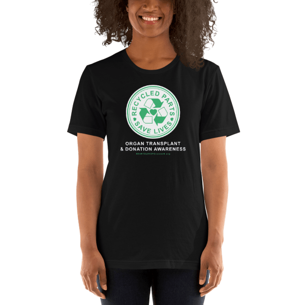 Recycled Parts Save Lives t-shirt design