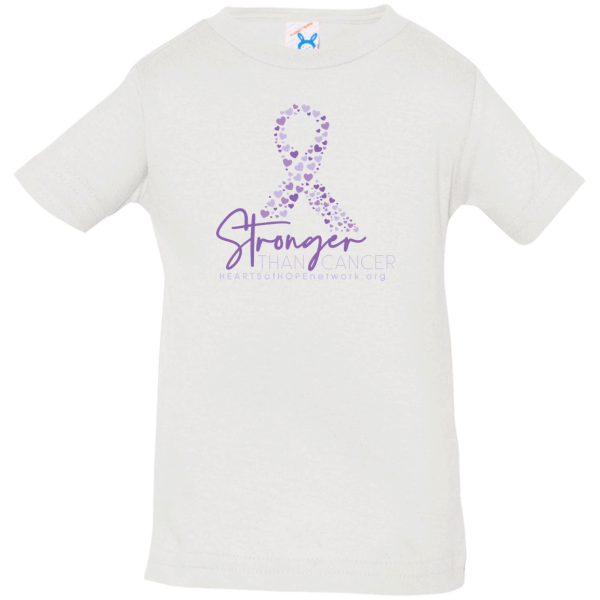 Stronger Than Cancer Baby Shirt