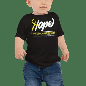 sarcoma awareness baby shirt
