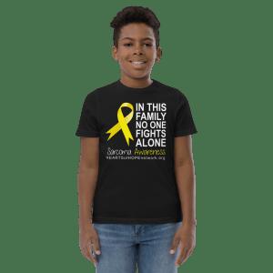 Youth Sarcoma Awareness Shirt - No One Fights Alone