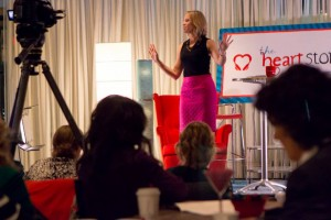 Shasta Nelson speaking at HeartStories Summit