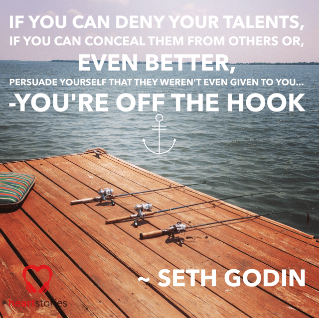 Seth Godin quote Off The Hook