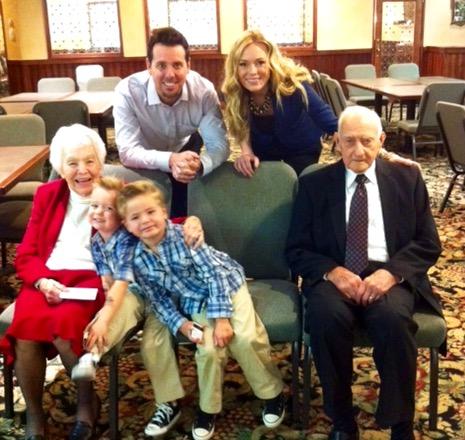 Grandma Vetter with Fam