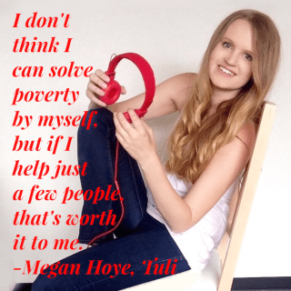 Megan Hoye, HeartStories square quote pic