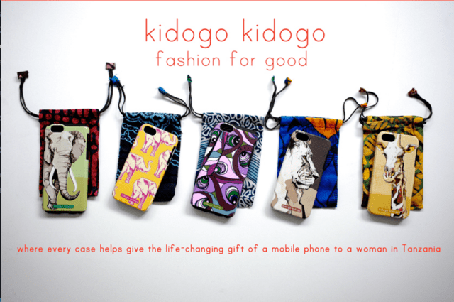Kidogo Kidogo fashion for good, phone cases Heartstories