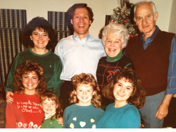 Masteller family photo 1980's