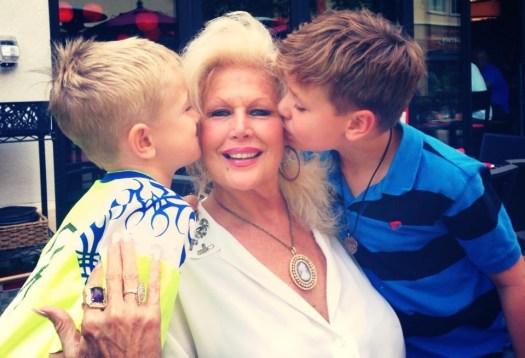 Myla Patton with my boys ~ on her turf, Crystal Gornto | HeartStories