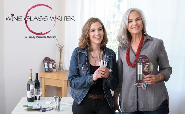 Wine Glass Writer - Renee and Jeannine