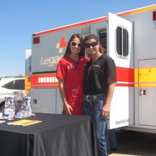 HeartStories Sponsor Terri Paterson McElhaney Legacy ER Urgent Care Ambulance