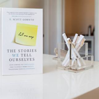 Scott Gornto Auxano Stories We Tell Ourselves Book