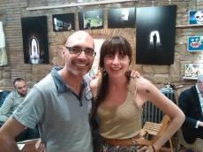 Patxi Somalo with Ani