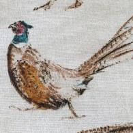 Pheasants Aga Cover - detail 2