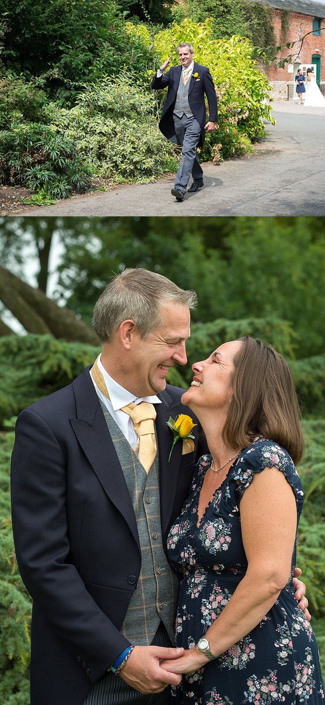 Rebecca  Matt Wedding at Spetchley Park  Heart Weddings