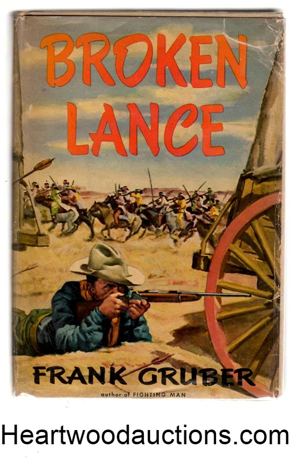 Broken Lance by Frank Gruber FIRST