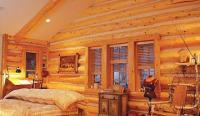 Log Cabin Siding Interior. gorgeous rustic cabin ...