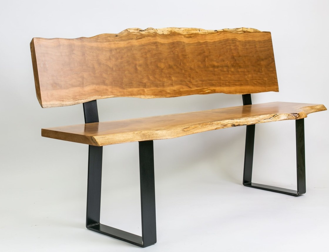 Live Edge Cherry Bench