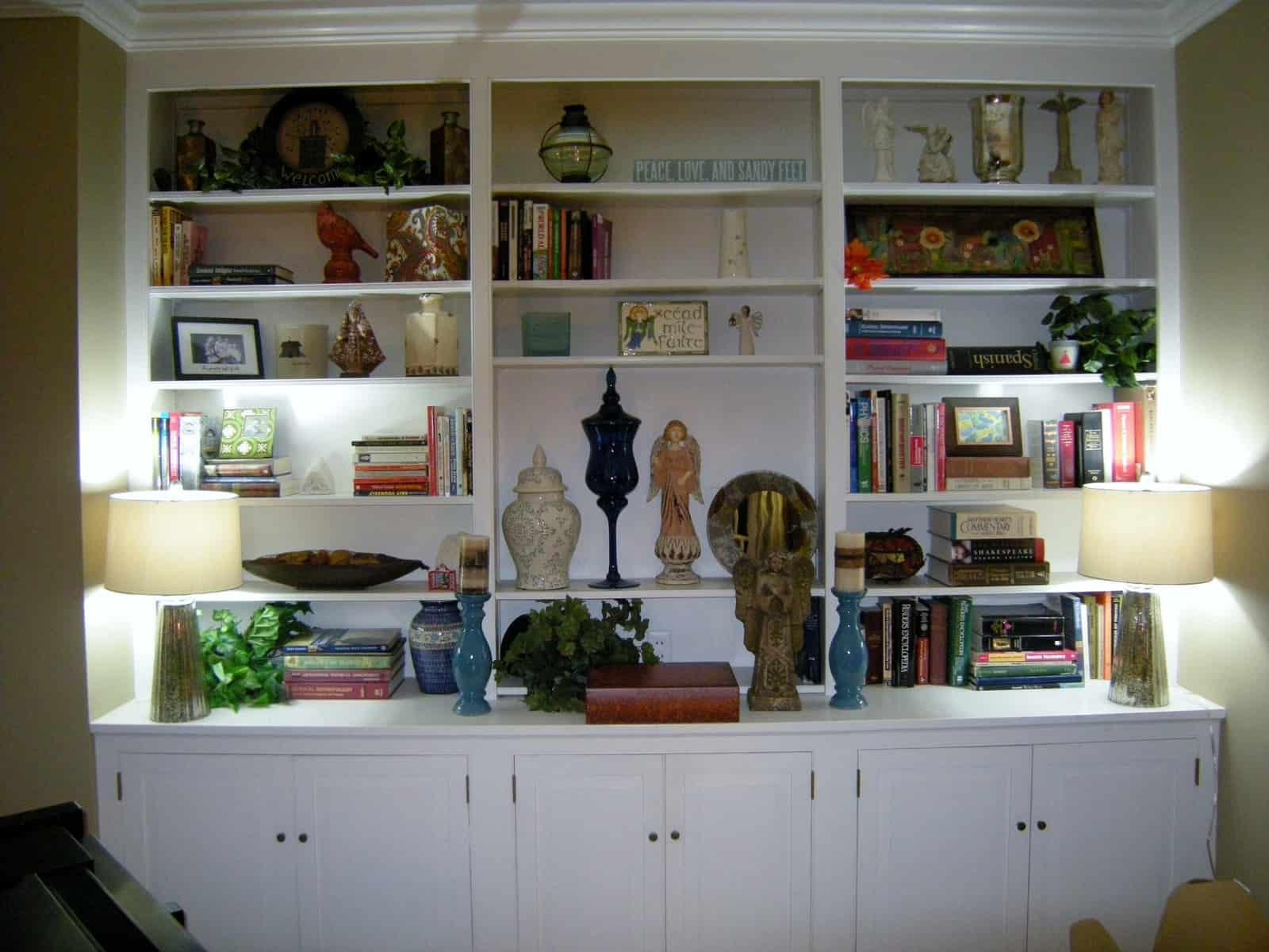 How to Decorate Bookshelves  HeartWork Organizing Tips for Organizing Your Home  Decluttering