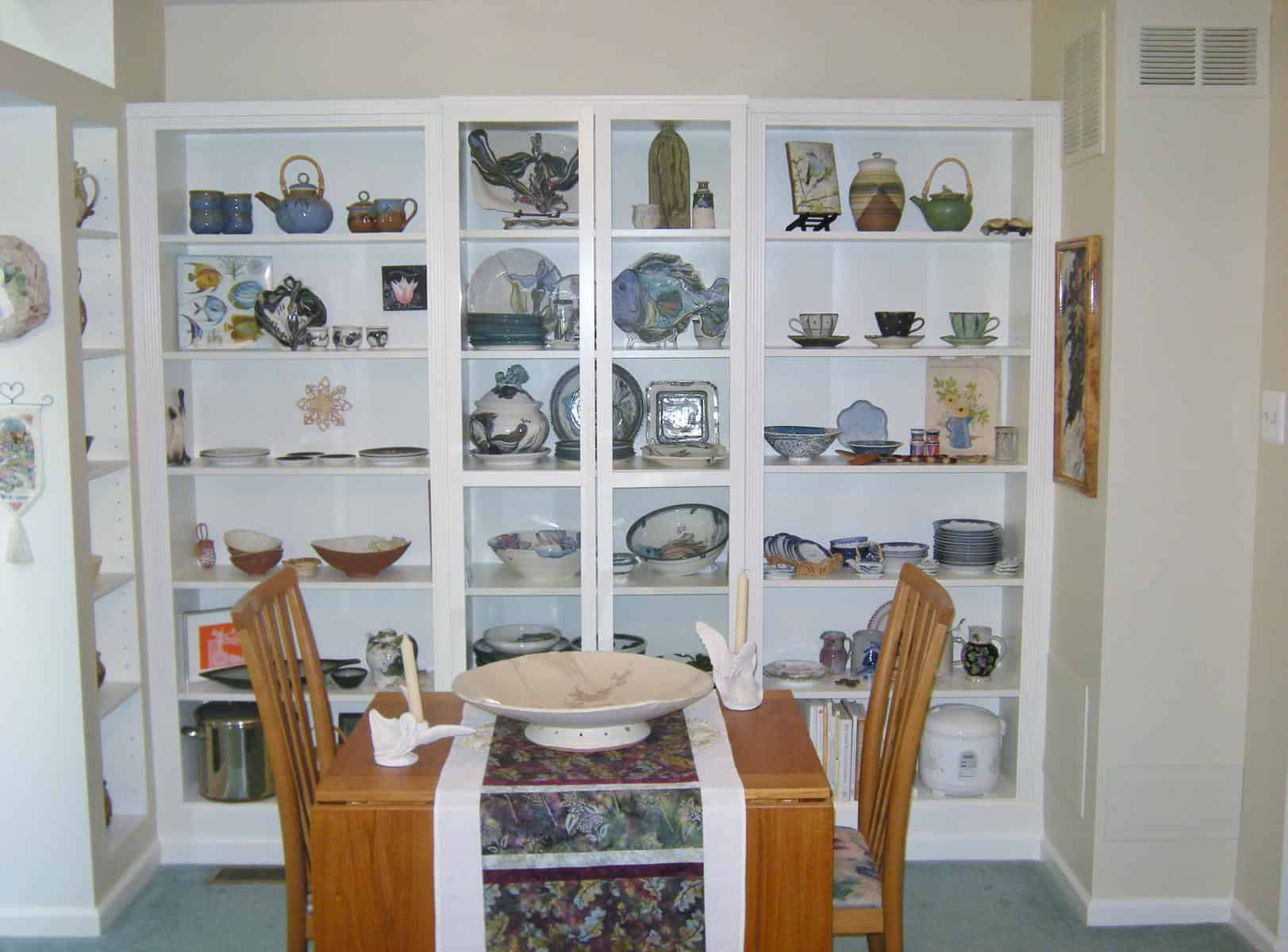 Custom Display Wall Using IKEA Billy Bookcases HeartWork