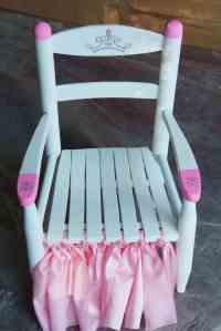Princess Chair Makeover {Curbside Treasures}   HeartWork ...