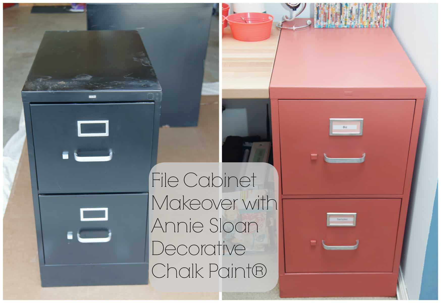 27 Simple Chalk Painted File Cabinets  Yvotubecom
