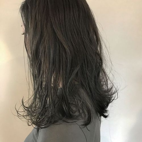 hair ... TOMMY ︎本日ご予約にまだ空きがございます 今日もあいにくの雨ですが、ぜひご予約お待ちしております(^_^)♡ ダークトーンでもしっかり透明感の出るash gray #tommy_hair #HEARTY #hearty#高崎#高崎美容室 #ashgray