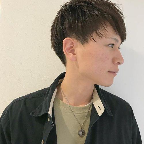 ツーブロックのショートスタイル︎担当:杉田#メンズ #メンズヘア #マッシュショート #ツーブロック #高崎 #高崎美容室
