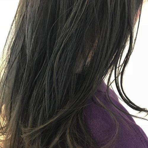 濃いめのアッシュ系カラー@sugita.ryosuke #高崎美容室 #高崎
